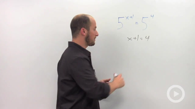 Solving Exponential Equations with the 'Same' Base