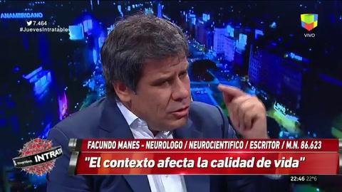 Facundo Manes: Si Argentina fuera un hospital, seríamos una guardia