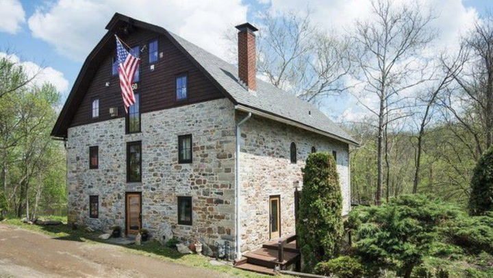 Spectacular Converted Mill Offers Eye-Popping Views Under Your Feet