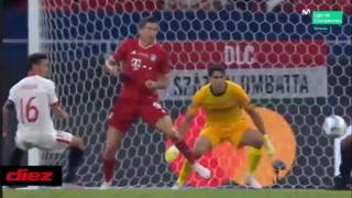 Bayern Munich reacciona y le empata al Sevilla con gol de Goretzka