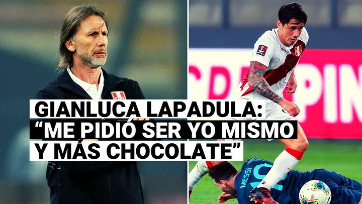 Gianluca Lapadula reveló los pedidos que le hizo Ricardo Gareca en su adaptación a la Selección Peruana