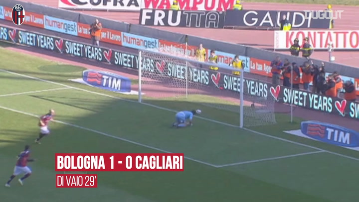 Comebacks: Bologna's last-gasp draw with Cagliari