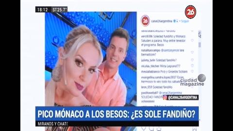 Qué pasó entre Soledad Fandiño y Pico Mónaco en un boliche