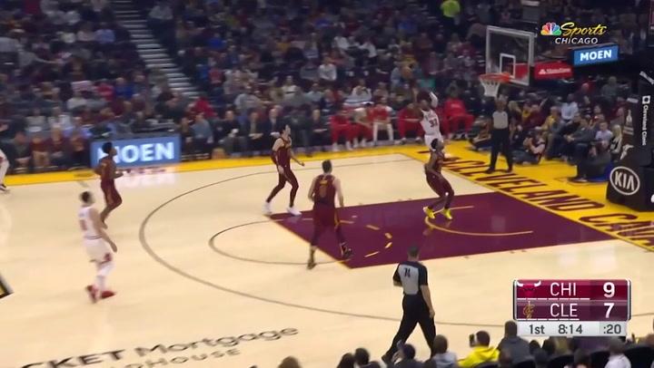 Zach LaVine jugador destacado de la jornada de la NBA (25/01/2019)