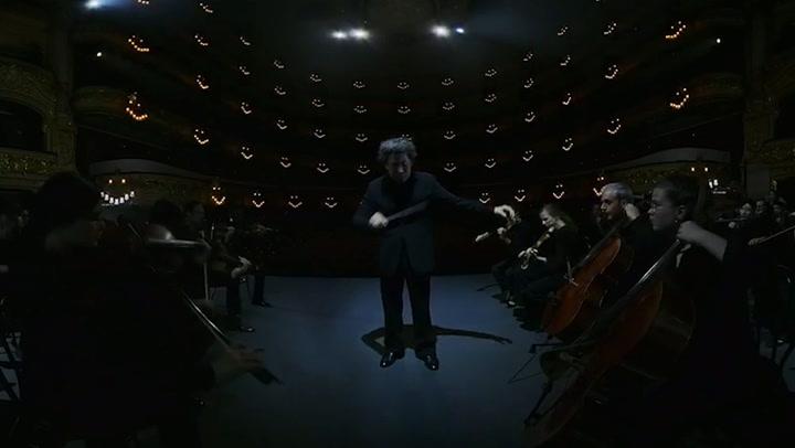 Dudamel grabando 'Symphony'