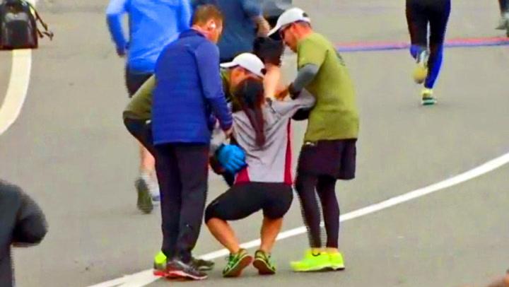 Hvem har sagt at løping ikke kan være en lagsport?
