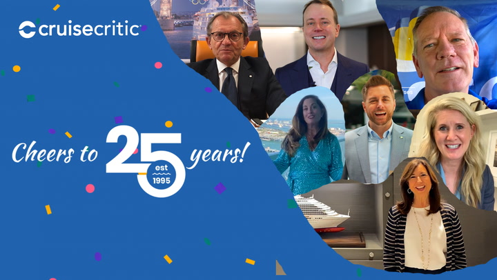 Cruise Executives Wish Cruise Critic a Happy 25th Anniversary (VIDEO)