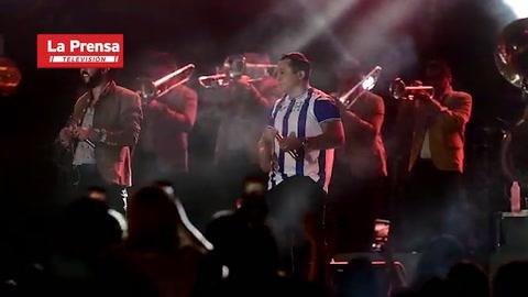 Así estuvo el concierto de Edwin Luna y la Trakalosa de Monterrey en San Pedro Sula