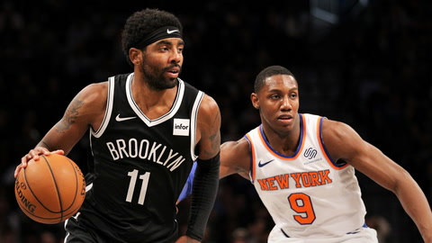 Is RJ Barrett headed for stardom, and can NYC's mayoral election affect Kyrie Irving's status? | SportsNite