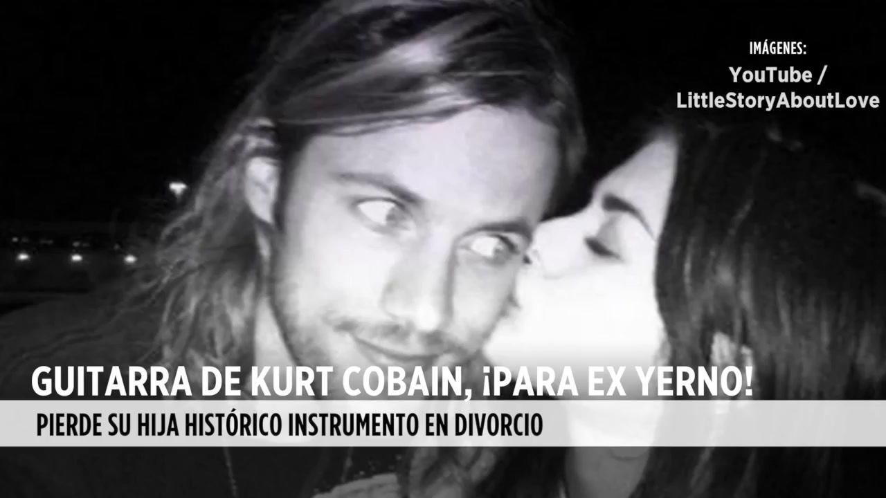 VIDEO: Se queda ex yerno con la guitarra de Cobian