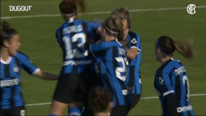 Stefania Tarenzi's back-heel goal vs Roma