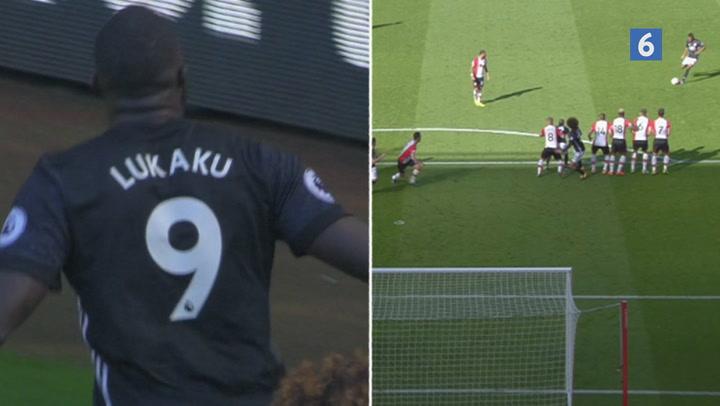 Highlights: Brandvarme Lukaku sikrer endnu en United-sejr!