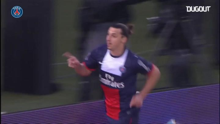 Paris Saint-Germain's best five home goals vs Brest in Ligue 1