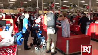 The annual 'Shop with a Cop' event at Target