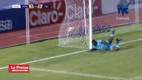 Honduras está venciendo 3-0 A Trinidad Y Tobago