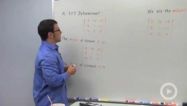 3x3 Determinants - Concept