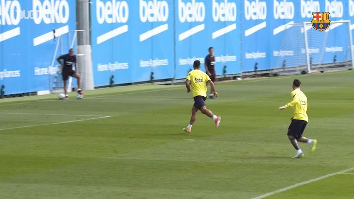 Lo mejor de entrenamientos del Barça en Julio de 2020