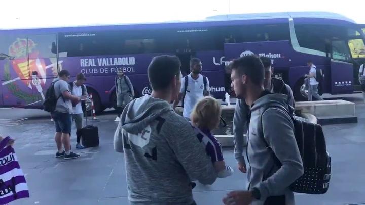 El Valladolid busca su permanencia en Vallecas