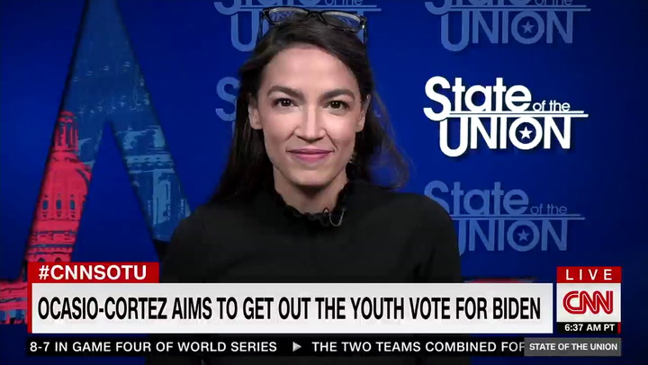 Ocasio-Cortez: Biden's Fracking Position 'Does Not Bother Me,' 'It Will Be a Privilege to Lobby Him'