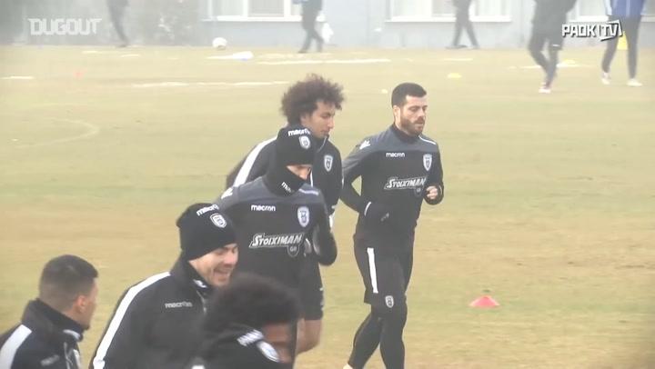 PAOK FC Train Ahead Of Asteras Tripolis