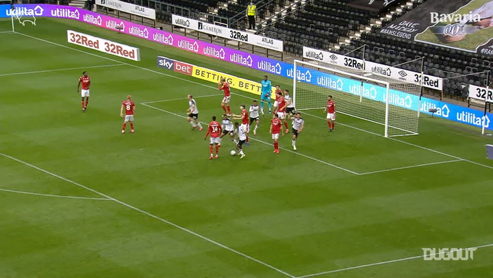 Chris Martin's 97th minute equaliser vs Nottingham Forest