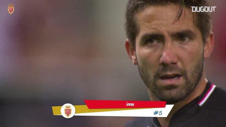 Las mejores asistencias de João Moutinho con el AS Monaco