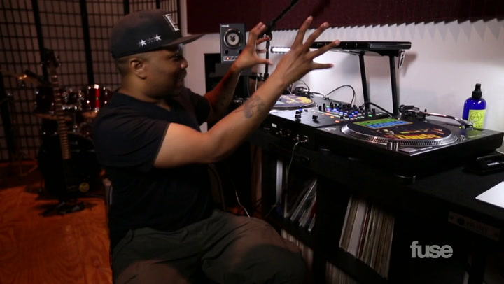 DJ Scratch's Vinyl Collection on Crate Diggers
