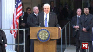 Nevada Gov. Steve Sisolak Speaks at Inauguration – VIDEO