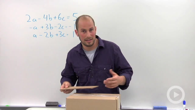 Solving a Linear System in Three Variables with no or Infinite Solutions