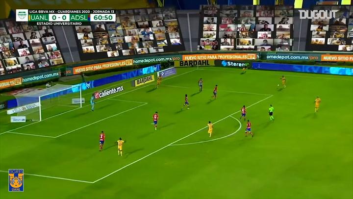 Tigres's 3-0 victory vs Atlético San Luis