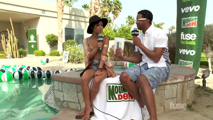 Coachella 2014: Why Rappers Love Collaborating With Jhené Aiko