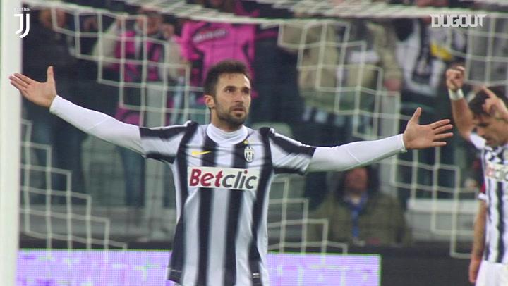 Mirko Vučinić's semi-final stunner Vs Milan