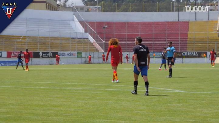 Liga de Quito's friendly vs Aucas