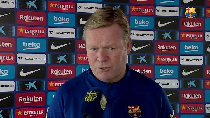 """Koeman: """"Será difícil para nosotros, pero también para el PSG"""""""