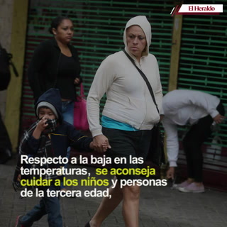 Frente frío ingresará a Honduras el lunes 30 de noviembre
