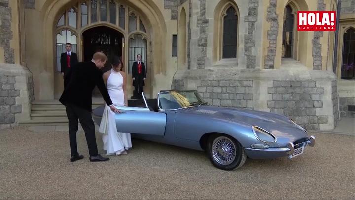 ¡De película! Harry y Meghan, protagonistas de una escena propia de James Bond el día de su boda