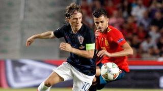 Liga de Naciones: Croacia se baja a España en el último suspiro