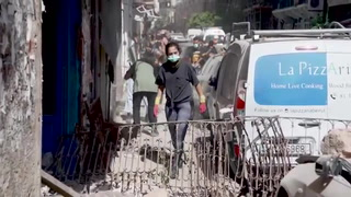 Decenas de personas siguen desaparecidas en Beirut, libaneses salen a limpiar las calles