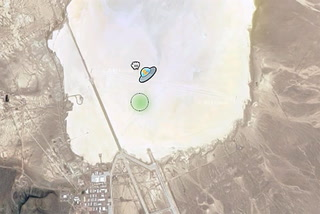 Google maps adds UFO icon to Area 51