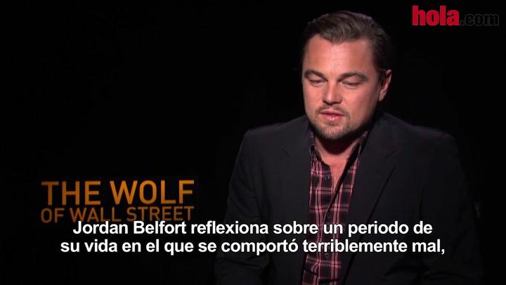 Leonardo DiCaprio: 'En 'El lobo de Wall Street' cada día había mucha improvisación'