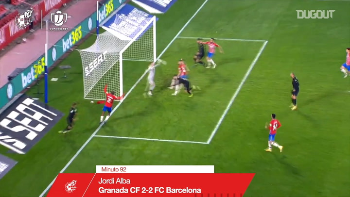 Crucial late goals from the 20/21 Copa del Rey quarter-finals