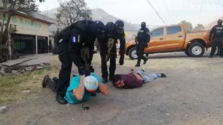 Autoridades del HE se pronuncian ante captura de narcoambulancia