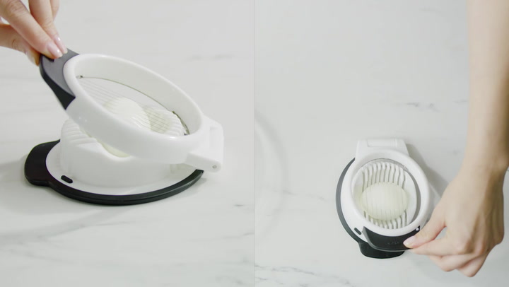 Preview image of OXO Egg Slicer video