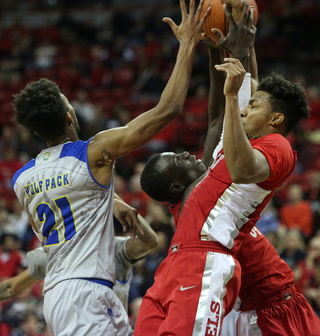 UNLV Falls to In-State Rival No. 8 UNR, 87-70 – VIDEO