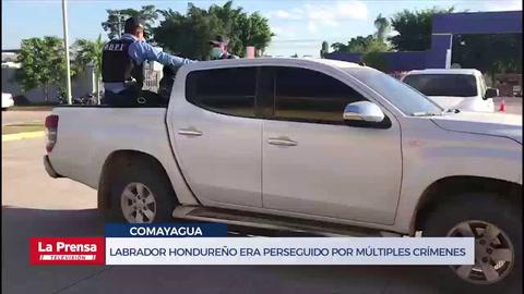 Labrador hondureño era perseguido por múltiples crímenes desde 2018