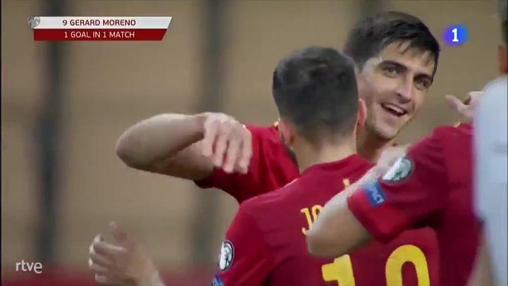Gerard Moreno sentencia a Kosovo marcando el 3-1