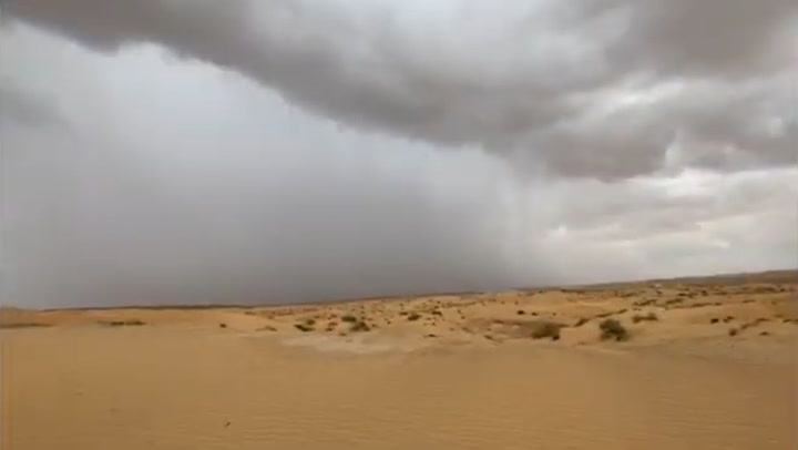 Dubai drenched with artificial rain thanks to cloud seeding technology