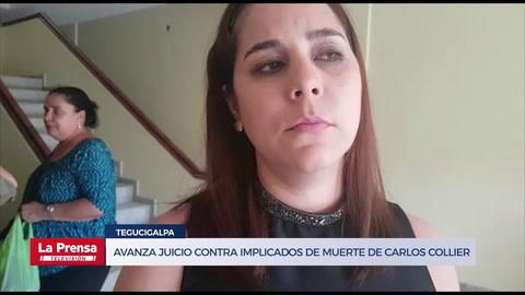 Avanza juicio contra implicados de muerte de Carlos Collier