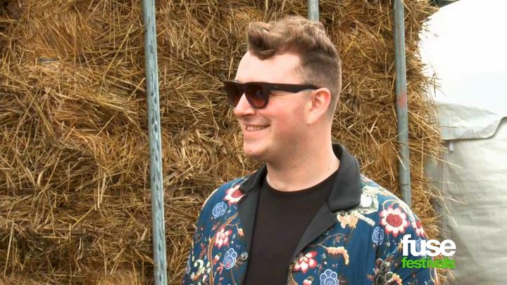 Sam Smith at Bonnaroo 2014
