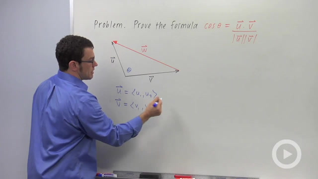 The Angle Between Vectors - Problem 4